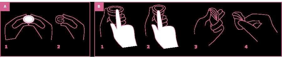 instrucciones copas menstruales