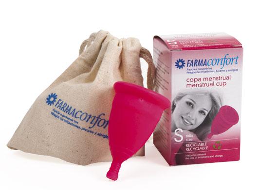 pack copas menstruales Farmaconfort talla S