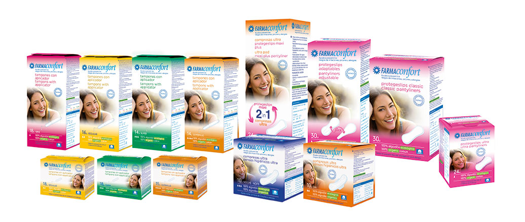 gama productos farmaconfort